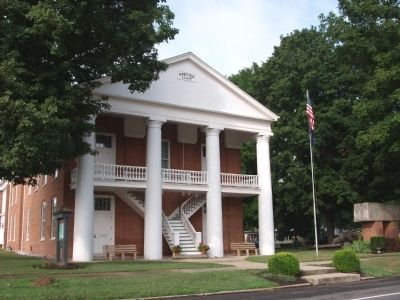 Front - - Ohio County Courthouse Built 1845 image. Click for full size.