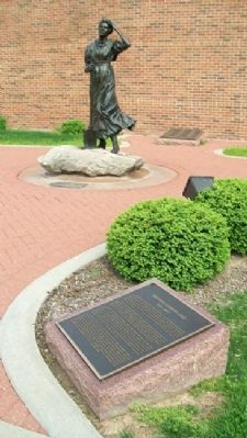 Hannah Cole Marker & Statue image. Click for full size.