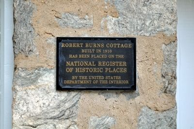 The Robert Burns Cottage image. Click for full size.