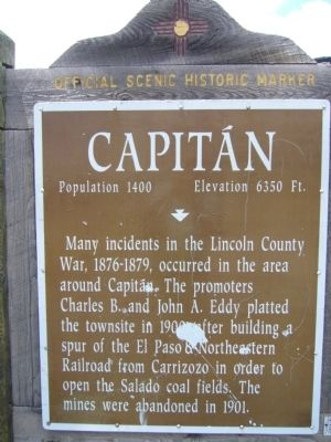 Capitan Marker image. Click for full size.