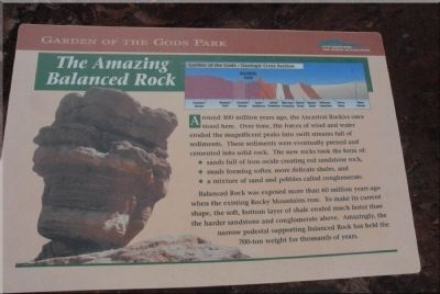 The Amazing Balanced Rock Marker image. Click for full size.
