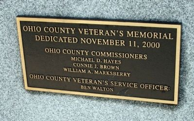 Obverse Side - - Memorial - Bronze Plaque image. Click for full size.