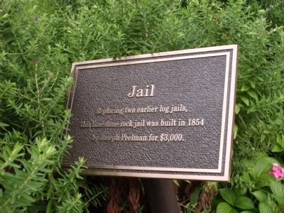 Jail Marker Photo, Click for full size