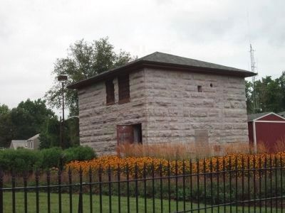 Old Two Story Stone Jail Photo, Click for full size
