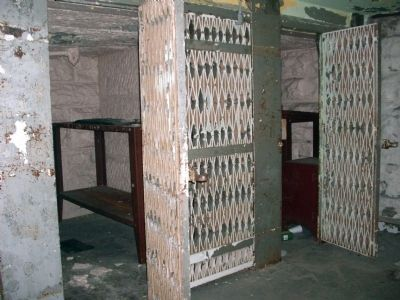 Lower Level - - Cell Block. . . Photo, Click for full size