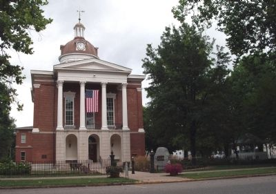 Front - - Switzerland County Courthouse - Vevay, Indiana Photo, Click for full size