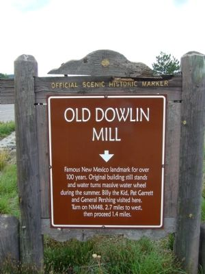 Old Dowlin Mill Marker image. Click for full size.