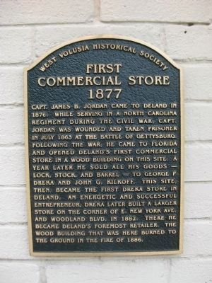 First Commercial Store Marker image. Click for full size.