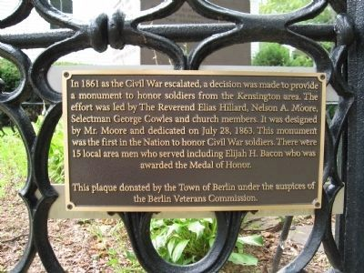 Plaque on the Railing image. Click for full size.