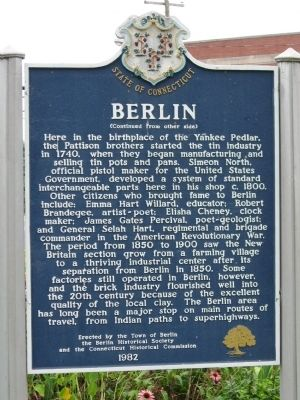 Berlin Marker image. Click for full size.