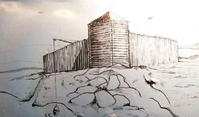 Depiction of Hannah Cole's Fort image. Click for full size.