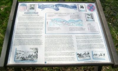 Battle of Boonville Marker image. Click for full size.