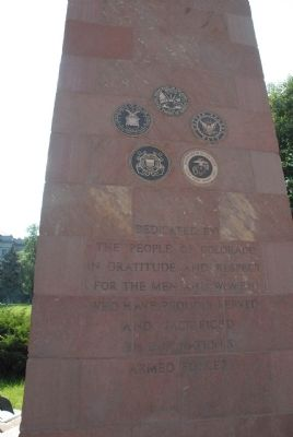 Colorado State Veterans Memorial Marker image. Click for full size.