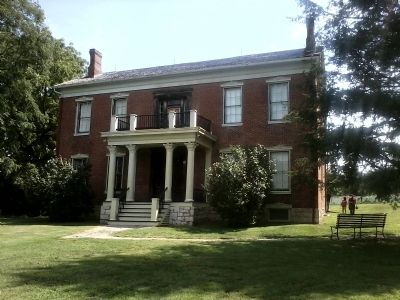 The Anderson House - Front view looking east. Photo, Click for full size