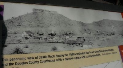 Panorama of Castle Rock image. Click for full size.