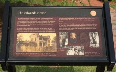 The Edwards House Marker image. Click for full size.
