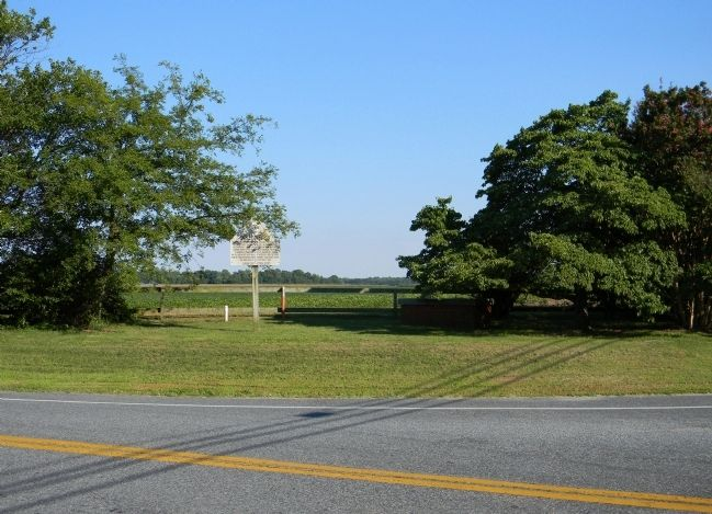 Wide view of the Charles Dickenson Marker image. Click for full size.