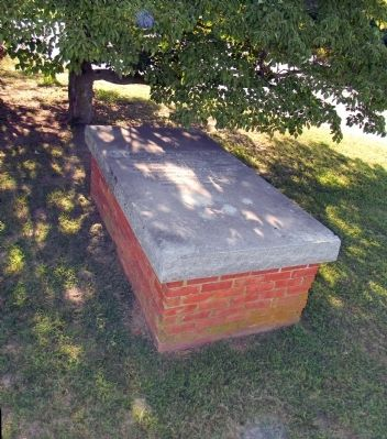 The Charles Dickenson burial vault image. Click for full size.