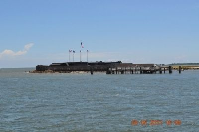 Fort Sumter Today image. Click for full size.