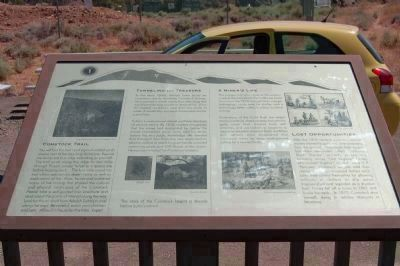 The Comstock Trail and History Kiosk Marker - Panel 1 image. Click for full size.