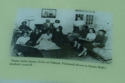 There were many clubs at Palmer. Pictured above is Stone Hall's student council. image. Click for full size.