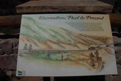 Recreation: Past to Present Marker image. Click for full size.