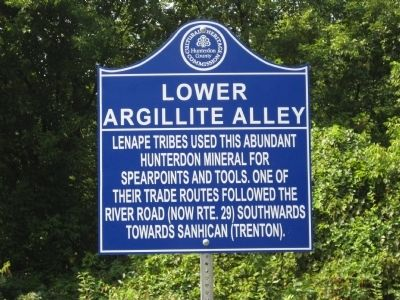 Lower Agrillite Alley Marker image. Click for full size.