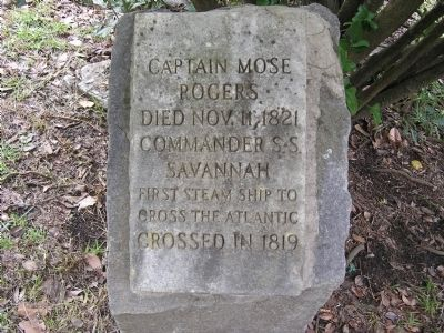 Captain Mose Rogers Marker image. Click for full size.