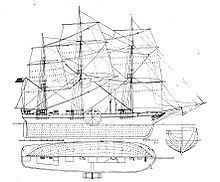 SS Savannah Diagram image, Click for more information