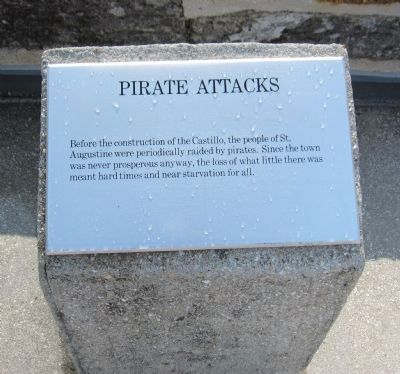 Pirate Attacks Marker image. Click for full size.