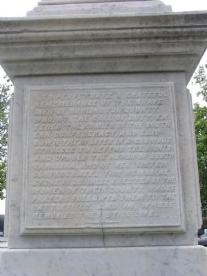 Close up of the South side text image. Click for full size.