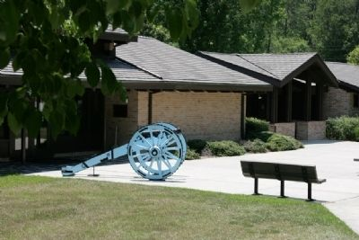 Horseshoe Bend National Military Park Visitor Center image. Click for full size.