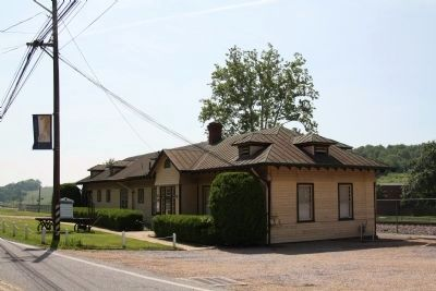 Former Norfolk & Western Railroad Station, Emory, Va. image. Click for full size.