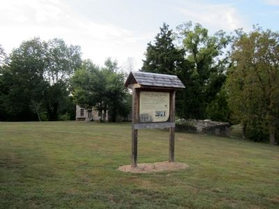 Lincoln Homestead State Park Marker (side 1) image. Click for full size.