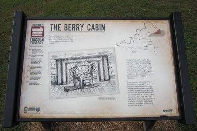 The Berry Cabin Marker image. Click for full size.