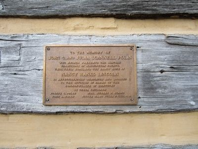 Berry Cabin Plaque image. Click for full size.