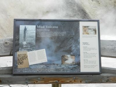Mud Volcano Marker image. Click for full size.