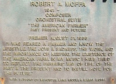 National Farmers Memorial - Moffa image. Click for full size.
