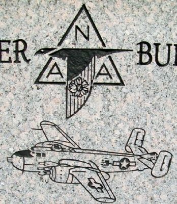 Detail on Bomber Builders Monument image. Click for full size.