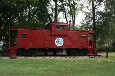 Atlantic Coast Lines Caboose: image. Click for full size.