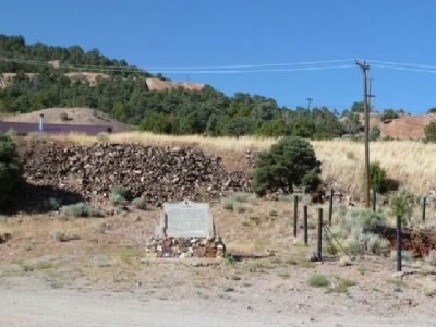 Pioche Marker - The View South image. Click for full size.