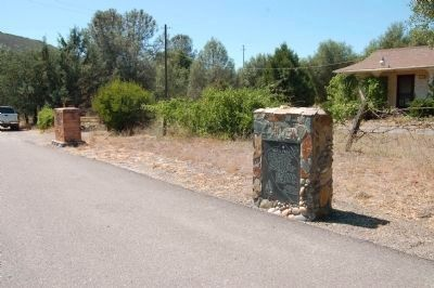 The Two Agua Fria Markers image. Click for full size.