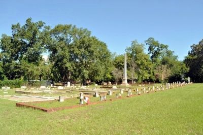 Confederate Cemetery, Cuthbert image. Click for full size.