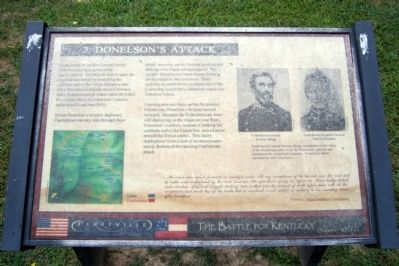 Donelson's Attack Marker image. Click for full size.