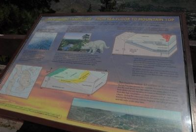 Our Changing Landscape-From Sea Floor to Mountain Top Marker image. Click for full size.