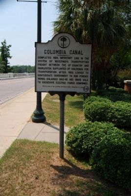 Columbia Canal Marker Photo, Click for full size