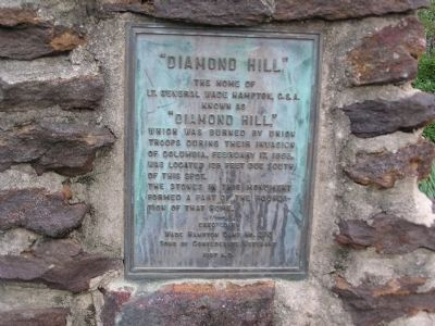 Diamond Hill Marker image. Click for full size.