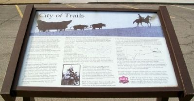 City of Trails Marker image. Click for full size.