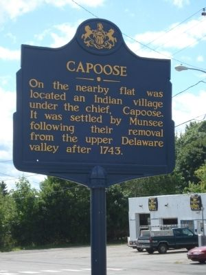 Capoose Marker image. Click for full size.