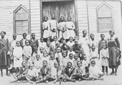 Pine Grove Rosenwald School, Graduating Class-1924 image. Click for full size.